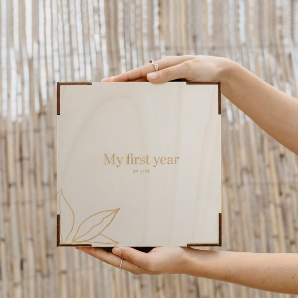 Caja de madera personalizada en madera