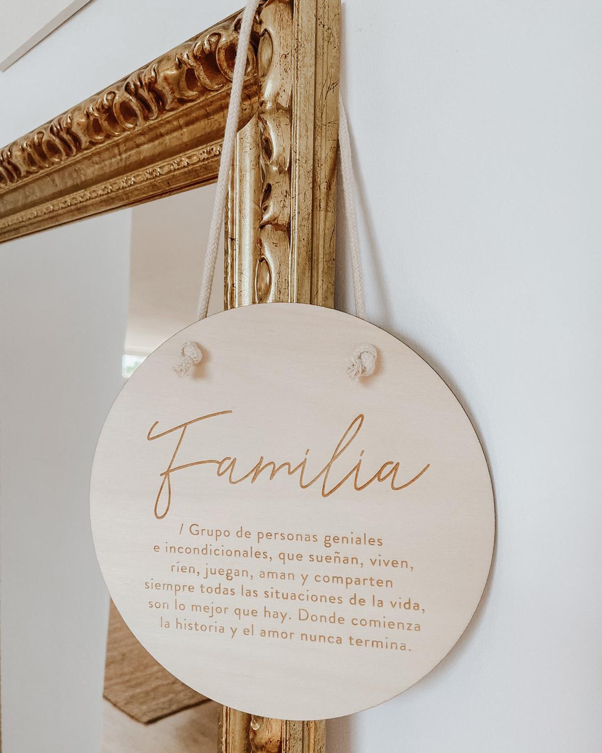 Banderola 'Familia'